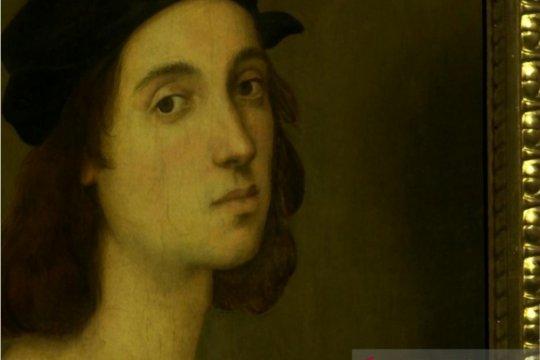 Raphael ubah bentuk hidungnya dalam potret diri