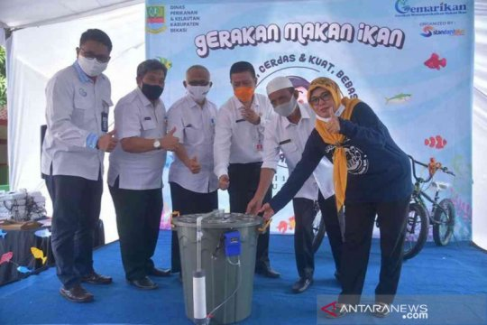 Di masa pandemi, Kabupaten Bekasi kampanyekan Gemarikan cegah stunting