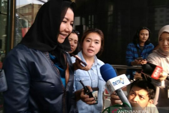 KPK panggil 2 notaris saksi kasus cuci uang Rita Widyasari