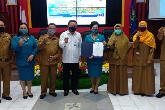 Empat kabupaten di Kalbar raih penghargaan dari BKKBN