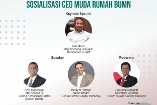 Kementerian BUMN buka kesempatan milenial menjadi CEO