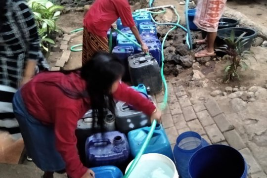 Tujuh kecamatan di Pasuruan alami kekeringan