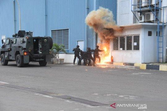 Komando Operasi Khusus TNI gelar latihan penanggulangan terorisme