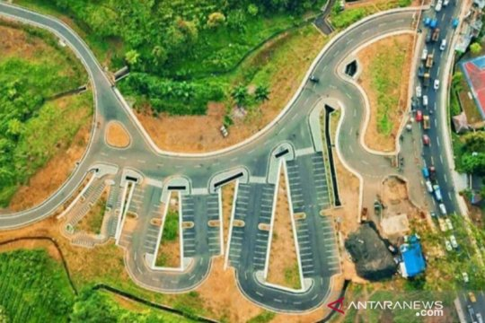 Proyek rest area Puncak Bogor belum selesai lelang
