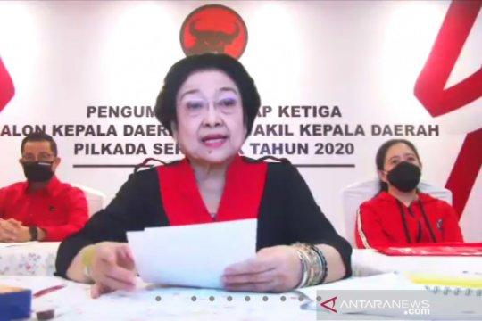 Megawati ingatkan calon kepala daerah tak lecehkan rekomendasi PDIP