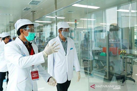 Luhut minta produsen farmasi nasional percepat produksi obat Covid-19