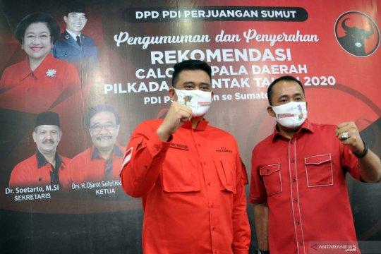 PDI Perjuangan usung Bobby Nasution di Pilkada Kota Medan