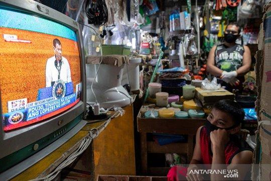 """Duterte """"sangat percaya"""" pada vaksin corona Rusia, rela ikut uji coba"""