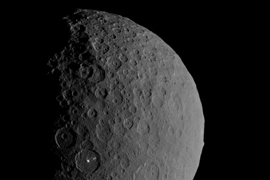 Lautan, sumber air bawah tanah ditemukan di Planet Ceres