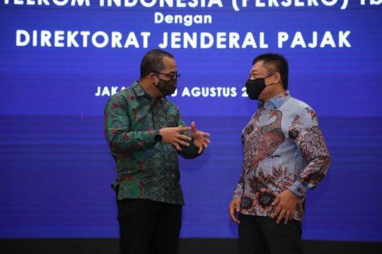 DJP-Telkom perkuat kerja sama melalui integrasi data perpajakan