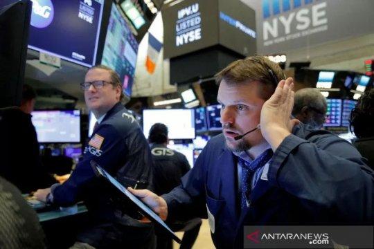 Wall Street dibuka sedikit menguat setelah rilis data pengangguran AS