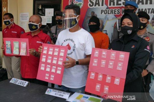 Polisi bongkar peredaran narkoba terselubung di pabrik jajanan pasar