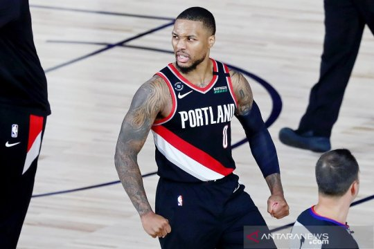 Ringkasan NBA: Lillard cetak 61 poin, Antetokounmpo tanduk Wagner