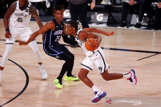 Tundukkan Magic, Nets kantungi kemenangan kelima dalam restart NBA