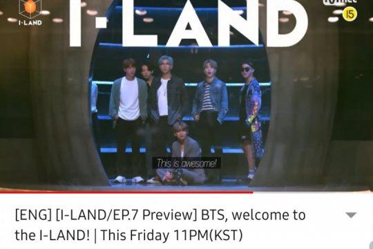 """Penampakan BTS di """"I-LAND"""""""