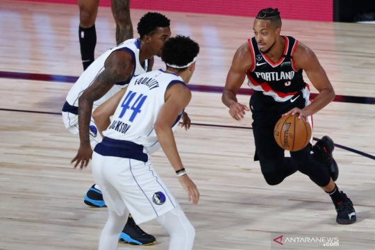 NBA:  Portland Trail Blazers menang tipis atas Dallas Mavericks