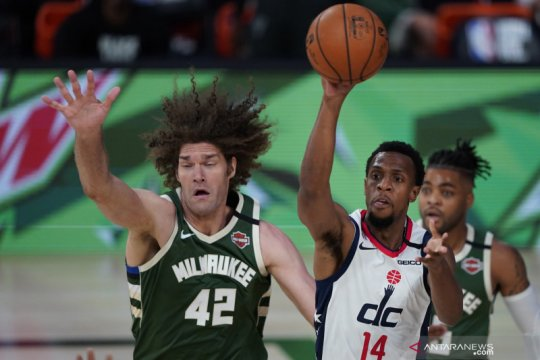 NBA : Milwaukee Bucks kalahkan Washington Wizards 126 - 113