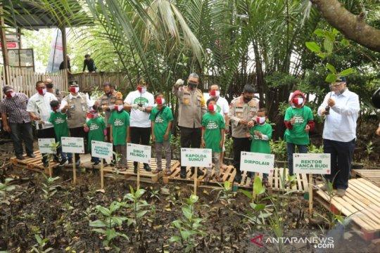 Pelindo 1 tanam 2020 bibit mangrove