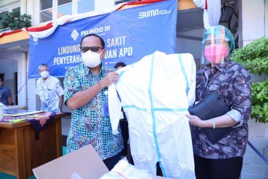 Pelindo III gelontorkan 7.000 APD untuk tiga RS di Jawa Timur