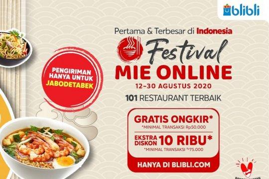 Blibli hadirkan 1.000 menu kuliner mie dorong pertumbuhan UMKM