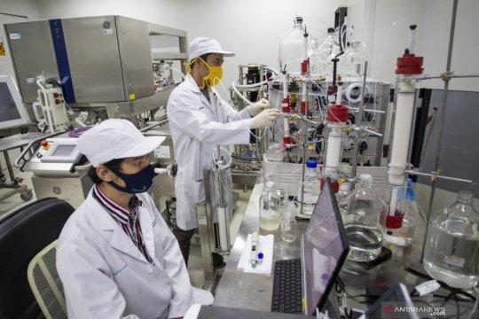 Riset vaksin Merah Putih di Bio Farma