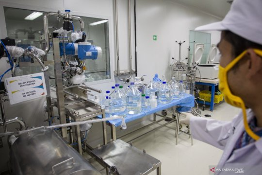 Vaksin Merah Putih diharapkan siap pakai pada 2022