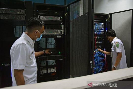Kebakaran gedung Telkom berdampak ke layanan 10 kantor Samsat di Riau