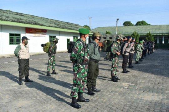 Danrem 042/Gapu kerahkan patroli gabungan karhutla ke batas Sumsel