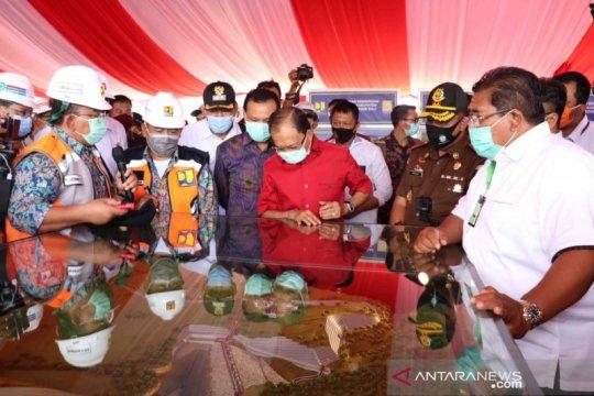 Gubernur Bali letakkan batu pertama Bendungan Tamblang-Buleleng