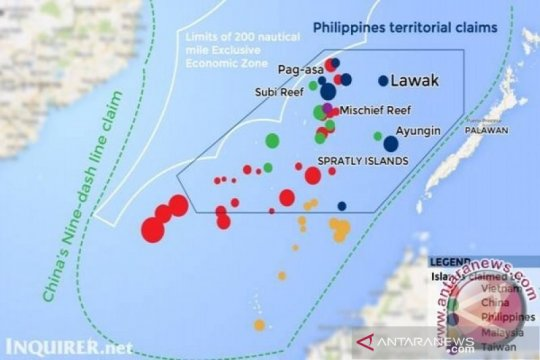 Filipina kirim pesawat tempur terbangi kapal-kapal China di LCS