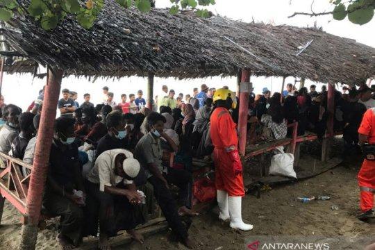 Polres Lhokseumawe perketat pengawasan pengungsi Rohingya