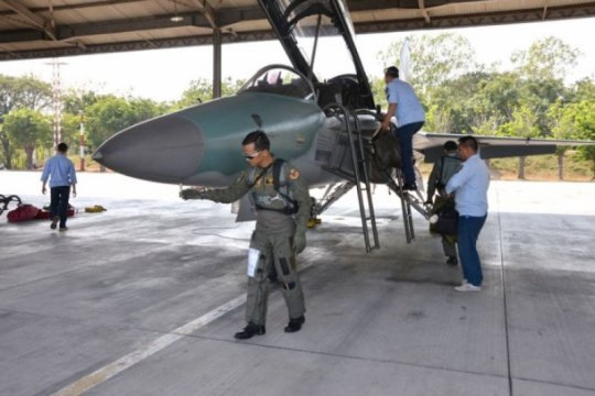Mabes TNI AU selidki penyebab pesawat T50i Golden Eagle tergelincir
