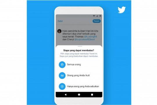 Twitter rilis pengaturan baru percakapan, siapa bisa balas cuitan