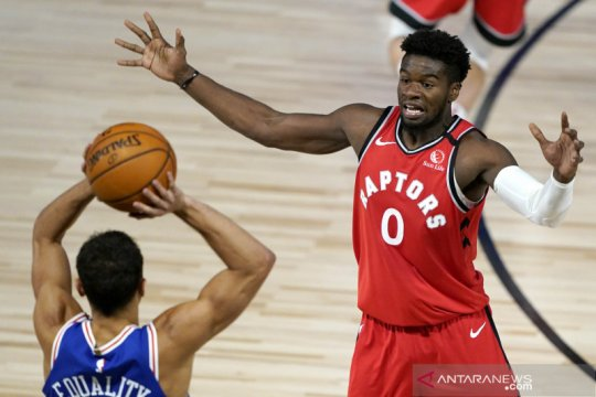 NBA : Toronto Raptors menang atas Philadelphia 76ers