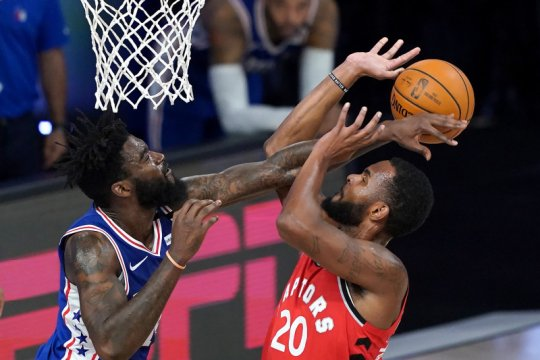 Toronto Raptors tundukkan Philadelphia 76ers 125-121