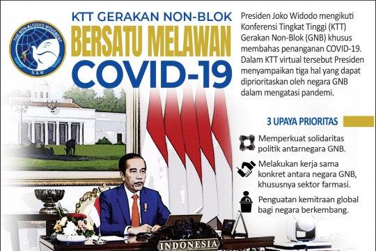 KTT Gerakan Non-Blok bersatu lawan COVID-19