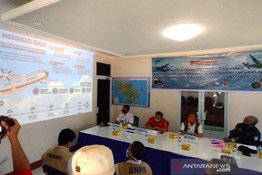Sumatera Selatan mulai melakukan hujan buatan antisipasi karhutla