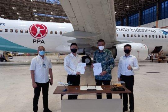 Garuda perkuat pasar penerbangan carter, gandeng sektor pertambangan