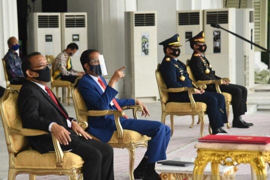 Presiden saksikan geladi peringatan detik-detik Proklamasi Kemerdekaan