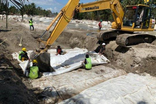 Cegah banjir lagi, Kementerian PUPR bangun tanggul di Luwu Utara