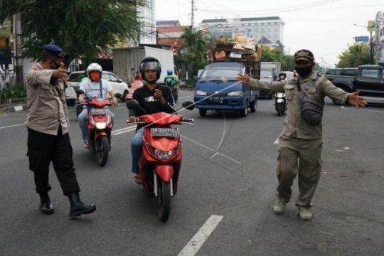 200 warga terjaring razia masker di Yogyakarta