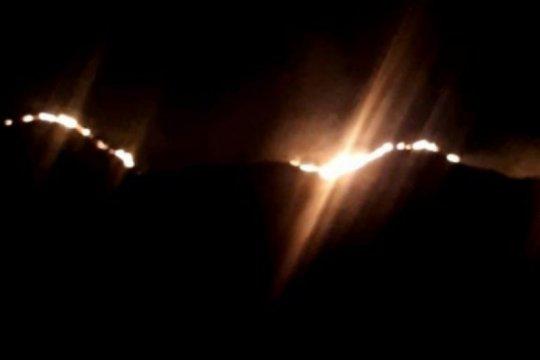 Kawasan Cagar Alam Wae Wuul di Manggarai Barat terbakar
