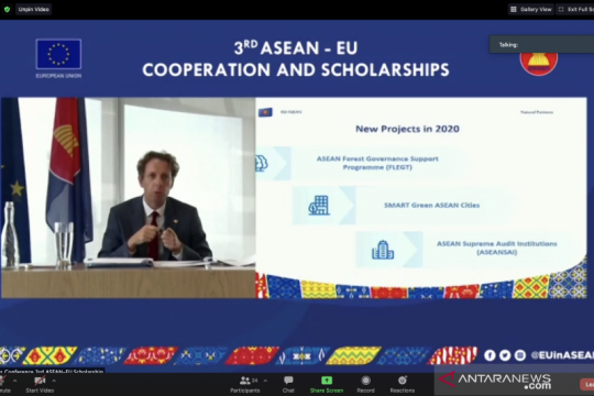 EU luncurkan tiga proyek kerja sama pembangunan dengan ASEAN