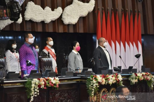 Ketua DPR hadiri geladi bersih pelaksanaan Sidang Tahunan MPR