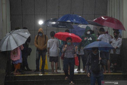 BMKG: Sejumlah wilayah Jabodetabek diperkirakan hujan pada Kamis