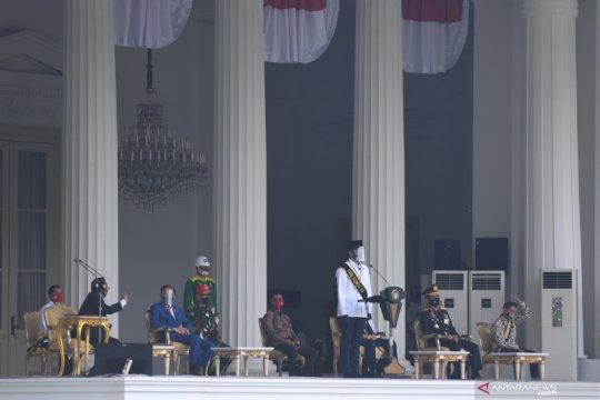 Gladi upacara Peringatan Detik-detik Proklamasi Kemerdekaan RI