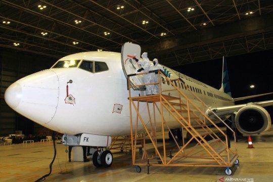 Garuda Indonesia Group pastikan perhatikan jadwal pemeliharaan pesawat