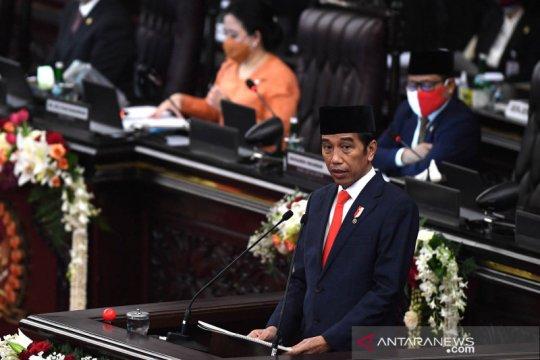 Presiden: 2021, anggaran transfer ke daerah-dana desa Rp796,3 triliun