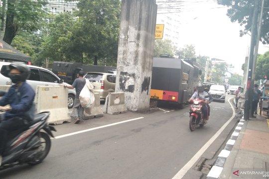 Pidato kenegaraan, belum ada penutupan jalan di Jalan Gelora