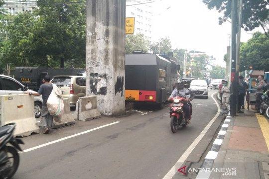 Pidato kenegaraan, belum ada penutupan di Jalan Gelora